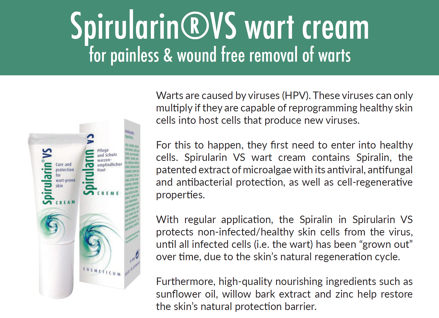 Spirularin VS Cream 10 g/ml